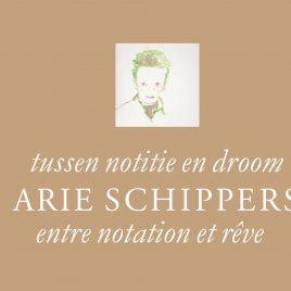 <em>Tussen notitie en droom, werk op papier van Arie Schippers</em> – Gijsbert van der Wal