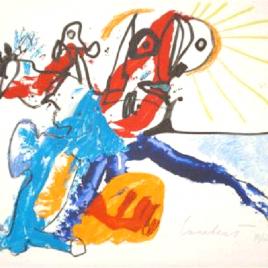 Litho, zonder titel 1975