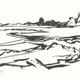 <em>Aan de rivier</em> – Litho II