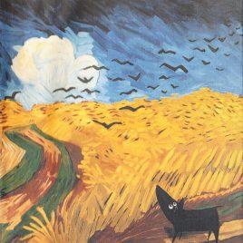 <em>Art is a dog</em> – Peter Bastiaanssen