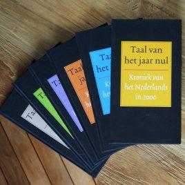 <em>Taal van het jaar nul – vijf: kroniek van het Nederlands</em> – Ton den Boon