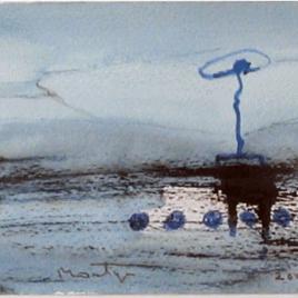 <em>Asia: aquarellen, tekeningen en gedichten</em> – Jan Montyn (Luxe editie: gesigneerd exemplaar + aquarel naar keuze)
