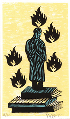 <em>De man zonder haast</em>– Hans Wap(Luxe editie – gesigneerd boek met prent)