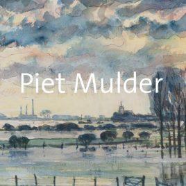 <em>Piet Mulder – Schilder van het Betuws landschap</em> – Reinjan Mulder
